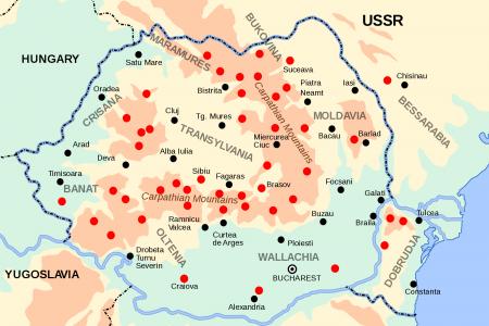 Harta rezistentei armate anticomuniste