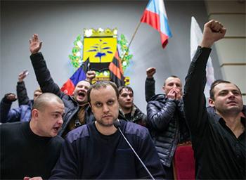 """Inca un STAT pe harta Europei: Donetk si Lugansk au fuzionat, formand republica """"NOUA RUSIE"""""""